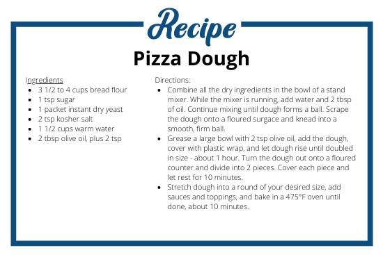 Pizza Dough Recipe