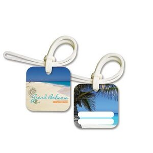 Bag & Luggage Tag - Square - Full Color