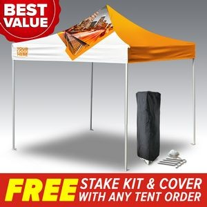 10'x10' Custom Printed Pop Up Tent